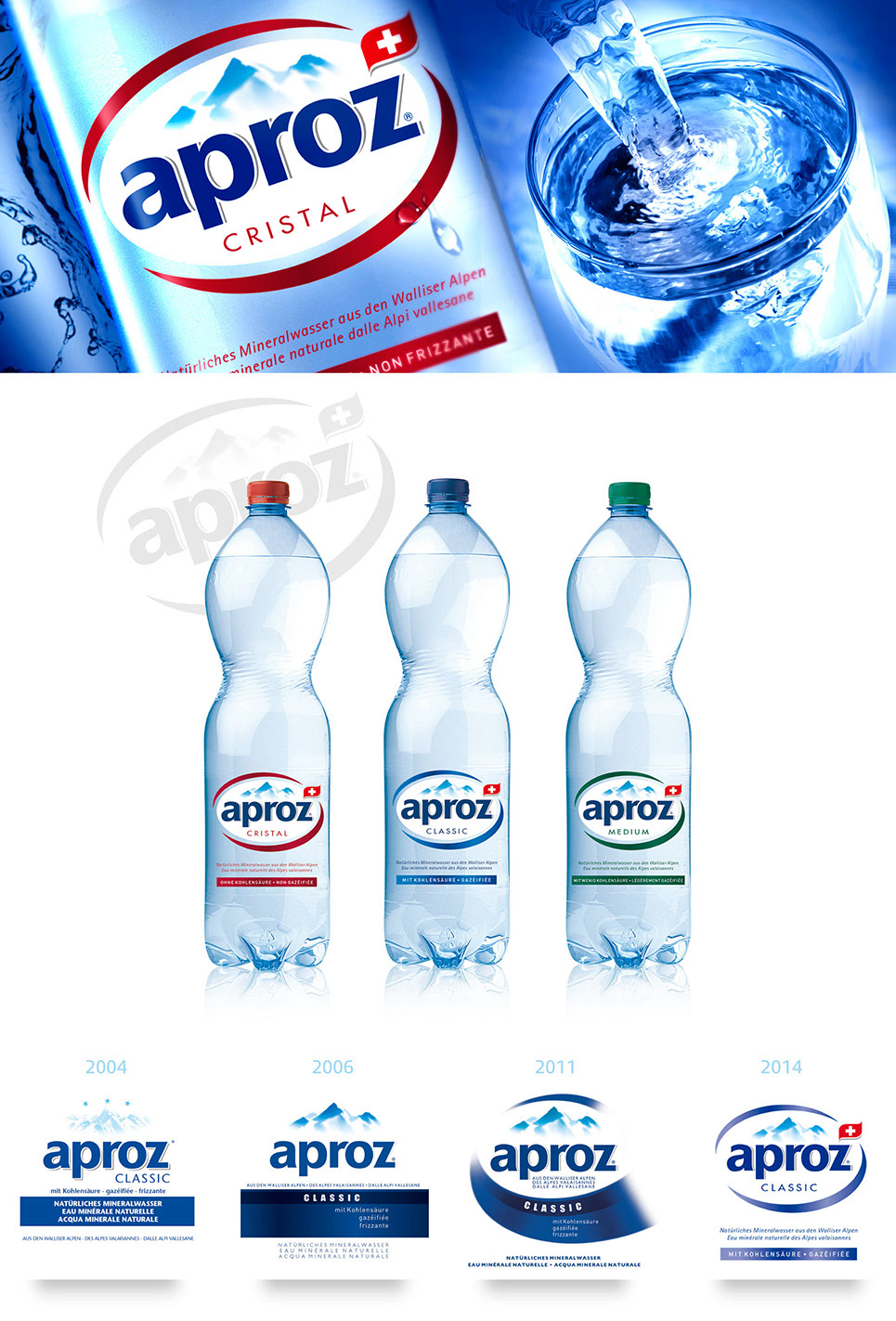 Aproz, the most drunk in Switzerland water
