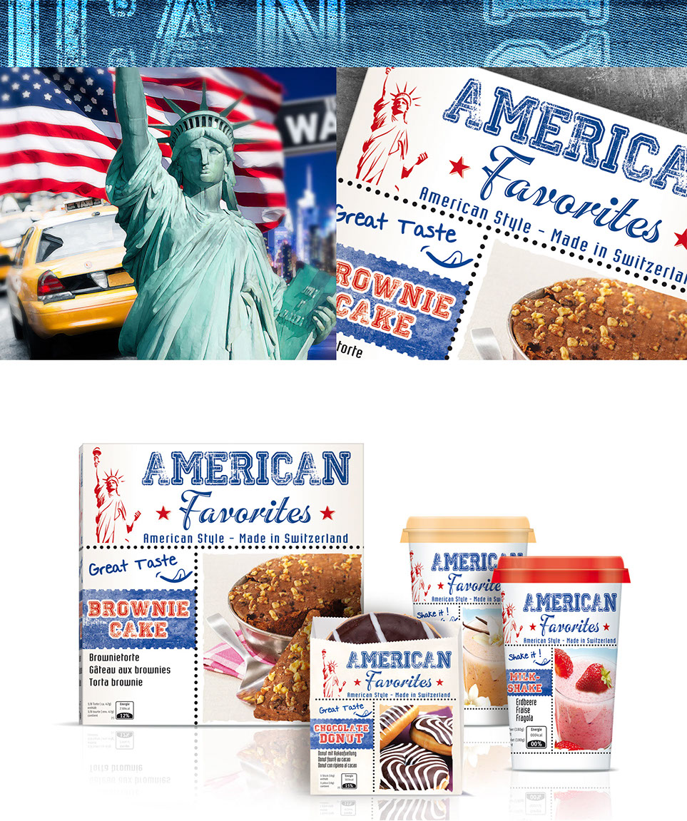 American favorite the US style