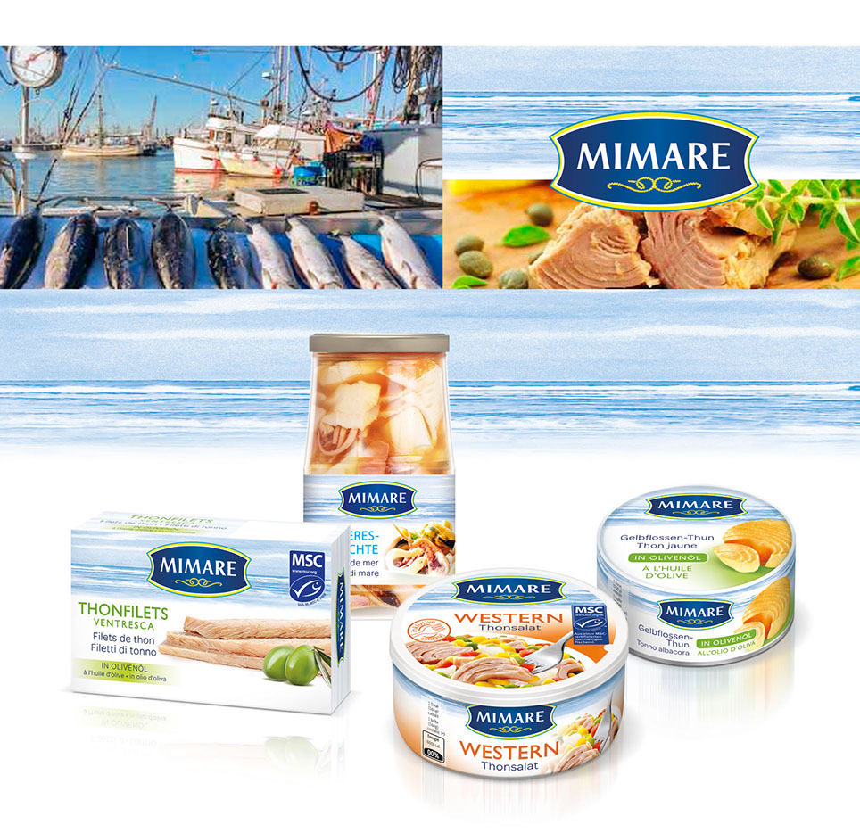 Mimare the finest seafood